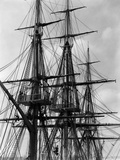 Rigging and Masts of the Uss Constitution 1932