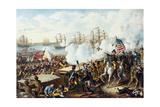 U.S. Frigate Philadelphia on the Rocks Off Tripoli, October 31, 1801 Giclée