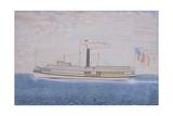 American Steamboat John L Hasbrouck