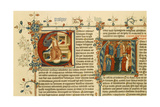 Illuminated Manuscript: Bible Royal Ms I E IX from the First Series