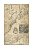 A New and Exact Map of the Dominions of the King of Great Britain on North America  C 1726