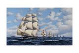 The US Fleet  1845