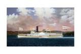 American Steam Boat Jesse Hoyt
