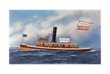 American Steam Tug John Nichols  1899