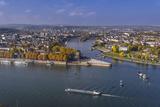 Germany  Rhineland-Palatinate  Upper Middle Rhine Valley  Koblenz  Cityscape