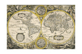 Nova Totius Terrarum Orbis Geographica Ac Hydrographica Tabula 1636