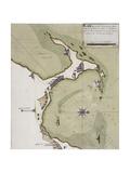 Port of Alexandria, Egypt 1760 Giclée