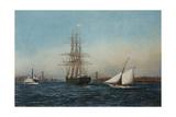 The Samar Entering New York Harbor