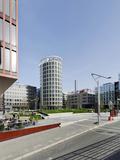 Modern Architecture  Office Buildings  International Coffee Plaza  Hafencity  Hamburg