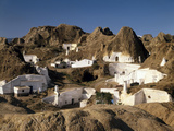 Spanien  Andalusien  Guadix  HvHlenwohnungen  Ansicht  Nahe Granada  HvHlenstadt