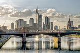 Germany  Hesse  Frankfurt on the Main  Skyline  Selective Focus