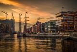 Germany  Hamburg  Hafencity  Magellan Terrassen  Sandtorkai  Sandtorhafen