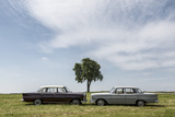 Mercedes 220 Sb  Type W 111  Year of Manufacture 1963  105 Hp  and Mercedes 200