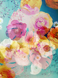 A Floral Montage with Blossoms and Ornaments from Spring Knots