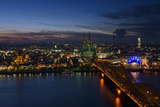Germany  North Rhine-Westphalia  View of Cologne at Night