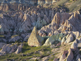 Tuff Stone Erosion in the Rose Valley Close Gšreme  Cappadocia  Anatolia  Turkey