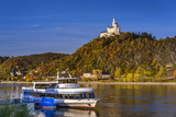 Germany  Rhineland-Palatinate  Upper Middle Rhine Valley  Braubach  the Rhine  Townscape  Marksburg