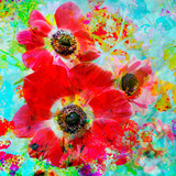 A Floral Montage with Anemones