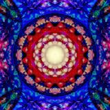 Mandala Ornament from Flowers