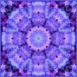 Filigree Mandala Ornament from Flower Photographs  Multiple Layer Work