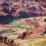 Colorado River as Seen from the Lipan Point  Grand Canyon National Park  Arizona  Usa