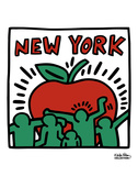 Untitled, 1989 Reproduction d'art par Keith Haring