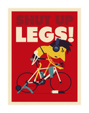 Shut Up Legs Reproduction d'art par Spencer Wilson