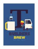 Builders Brew Reproduction d'art par Spencer Wilson