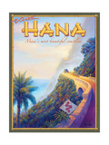 Visit Hana Reproduction d'art par Kerne Erickson