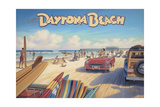 Daytona Beach Reproduction d'art par Kerne Erickson