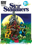 Star Slammers Issue No 1 - Subscription Cover