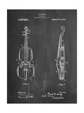 Frank M Ashley Violin Patent