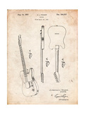 Fender Broadcaster Electric Guitar Patent