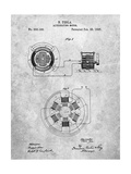 Tesla Alternating Motor Patent
