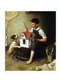 Painting the Little House