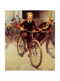 Fun on Bikes (or Boys on Bicycles)