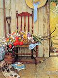 Fleurs du printemps Giclée par Norman Rockwell