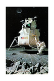 Man on the Moon (or United Stated Space Ship on the Moon)