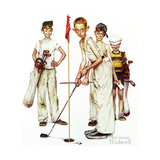 Four Sporting Boys: Golf