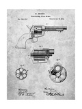 US Firearms Single Action Army Revolver Patent