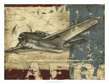 Vintage Aircraft II Giclée premium par Ethan Harper