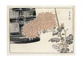 Stylized Chrysanthemums Wtih Decorative Box