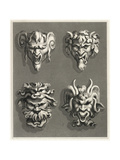 Stylized Gargoyle Designs