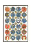Religious Symbol Medallion Collection