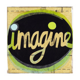 Imagine Lettering in Circle