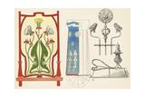 Multiple Decorative Dandelion Ornaments