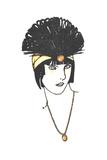 Vintage Feather Headpiece