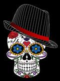 Hipster Horror Skull Halloween