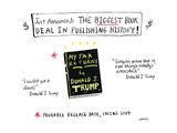 The biggest book deal in publishing history! - Cartoon