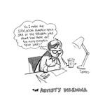The artist's dilemma - Cartoon